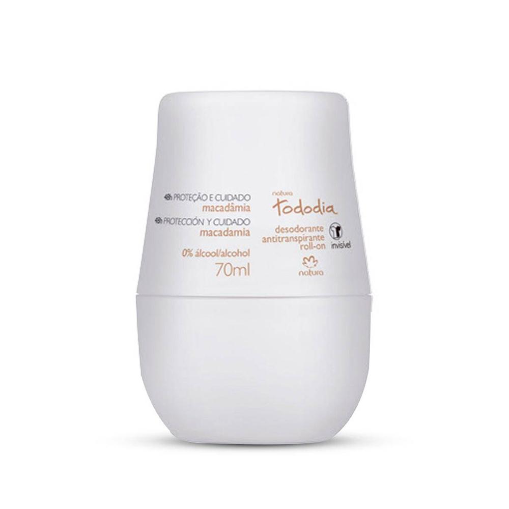 Desodorante Antitranspirante Roll-On Macadâmia 70 Ml  - Flor de Alecrim - Cosméticos