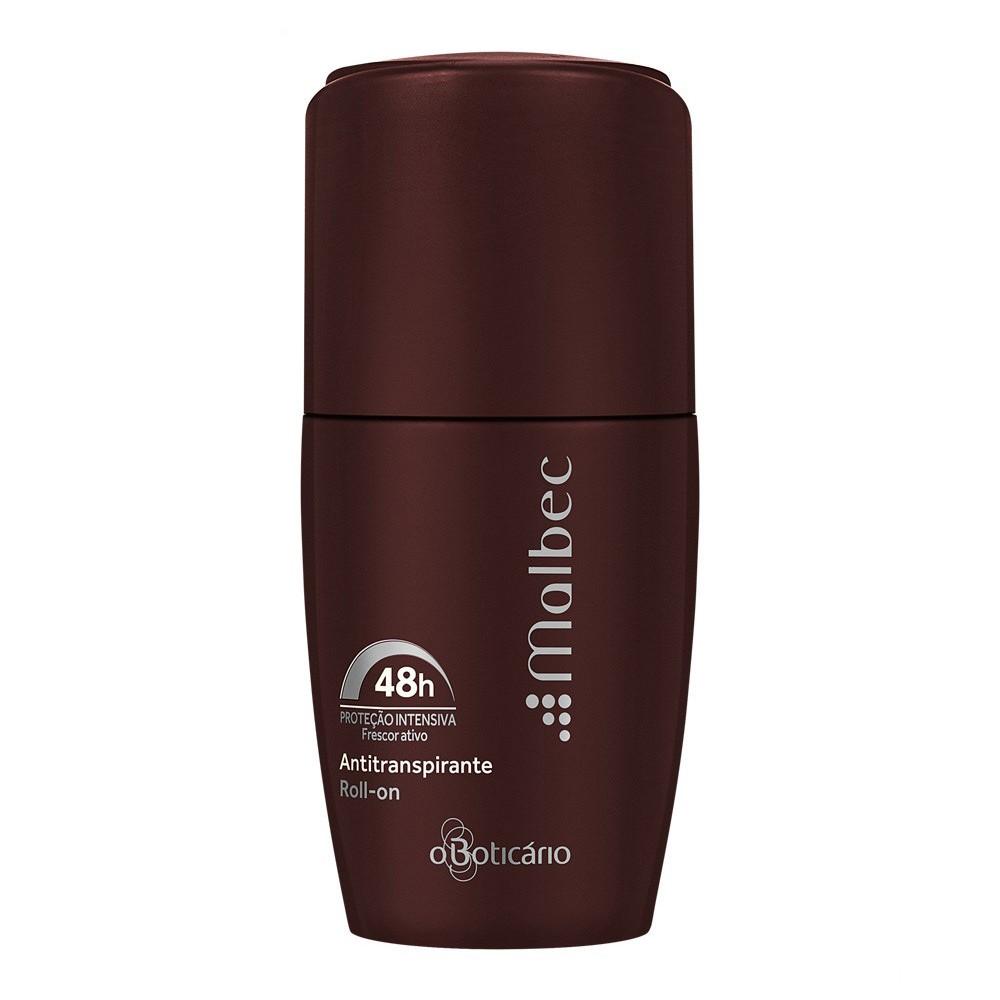 Desodorante Antitranspirante Roll-On Malbec 55 Ml  - Flor de Alecrim - Cosméticos