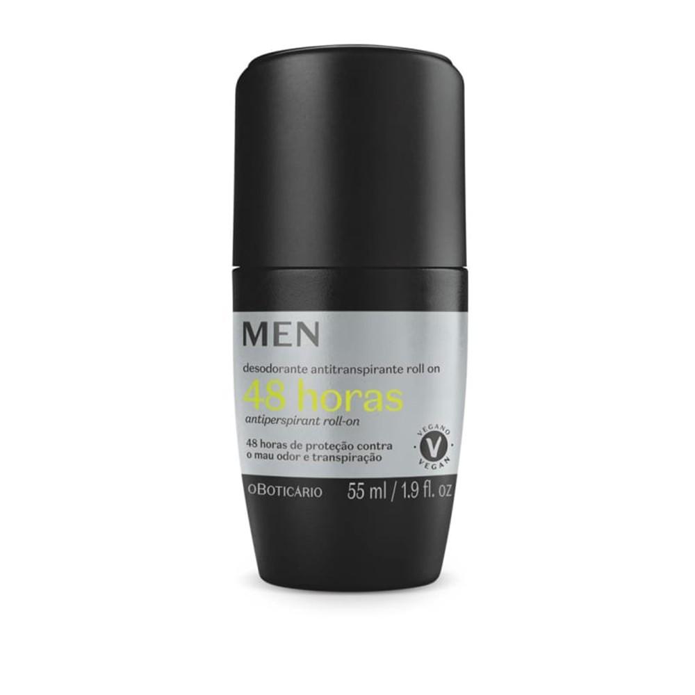 Desodorante Antitranspirante Roll-On Men 55 Ml  - Flor de Alecrim - Cosméticos