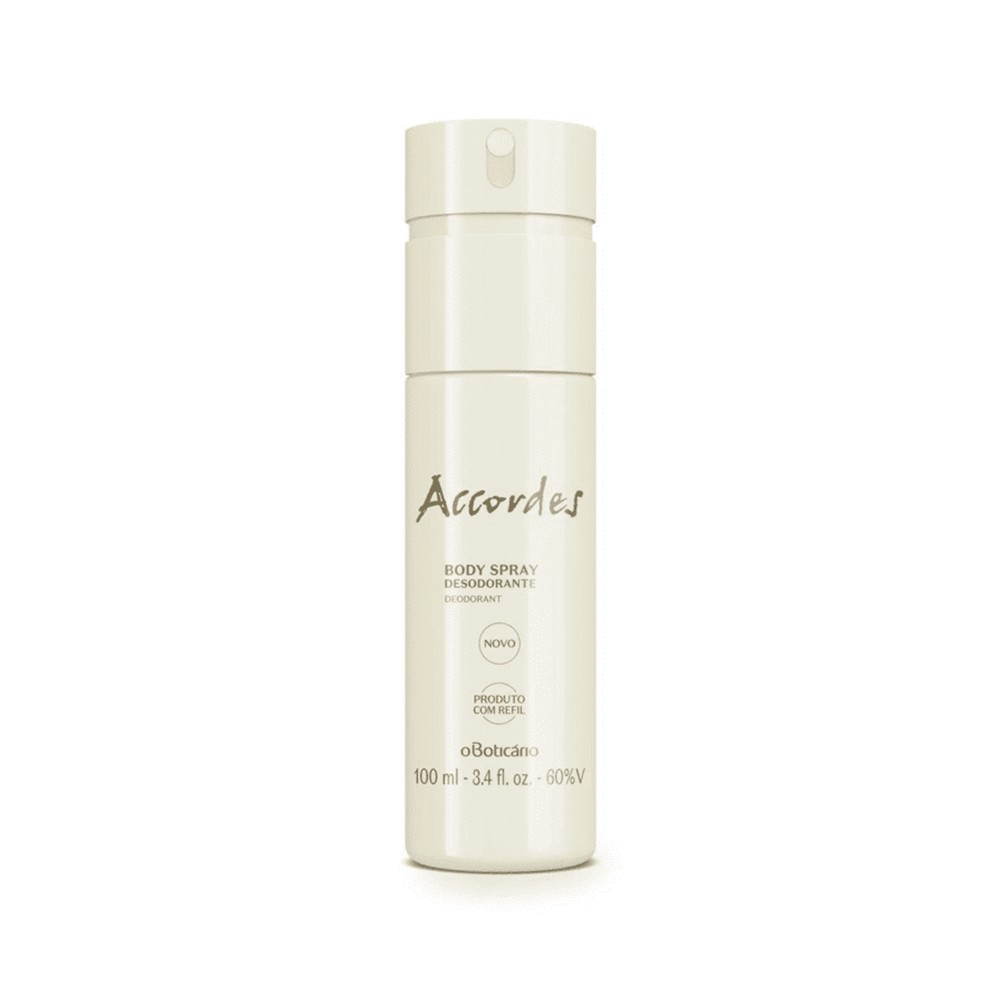 Desodorante Body Spray Accordes - 100 ml | O Boticário  - Flor de Alecrim - Cosméticos