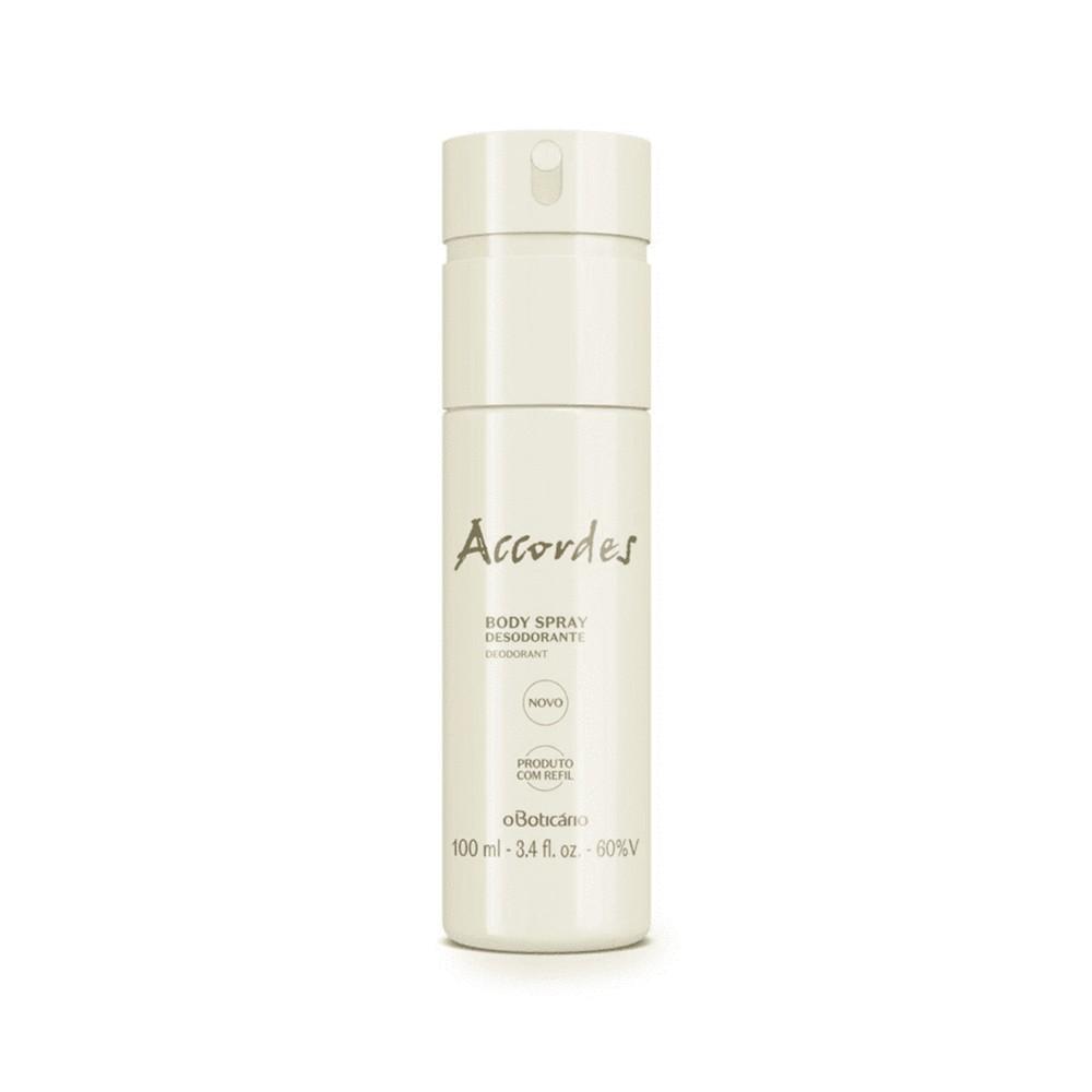Desodorante Body Spray Accordes 100 Ml  - Flor de Alecrim - Cosméticos