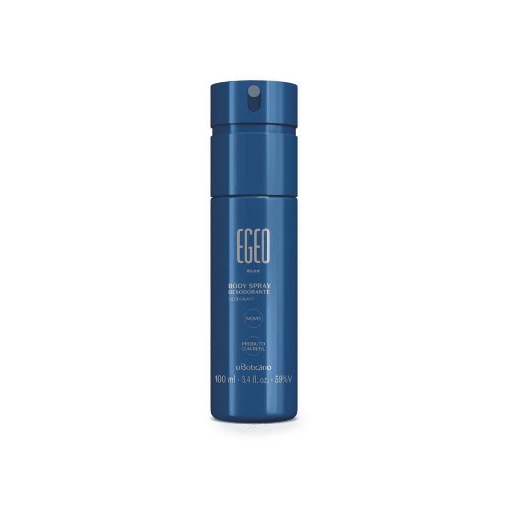 Desodorante Body Spray Egeo Blue - 100 ml | O Boticário  - Flor de Alecrim - Cosméticos