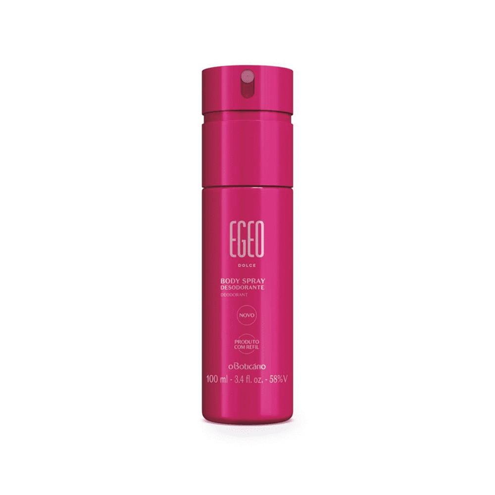 Desodorante Body Spray Egeo Dolce - 100 ml | O Boticário  - Flor de Alecrim - Cosméticos