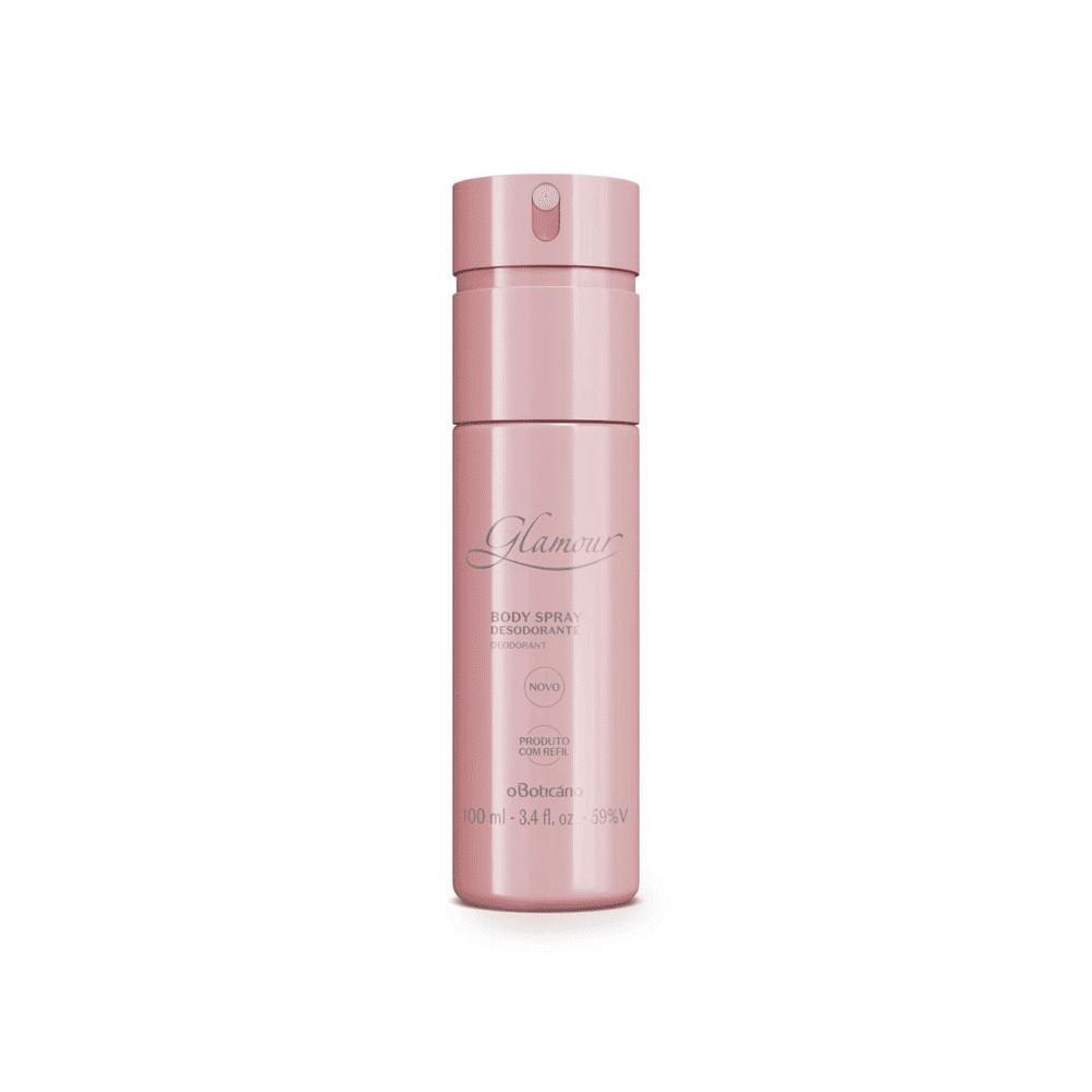 Desodorante Body Spray Glamour 100 Ml  - Flor de Alecrim - Cosméticos