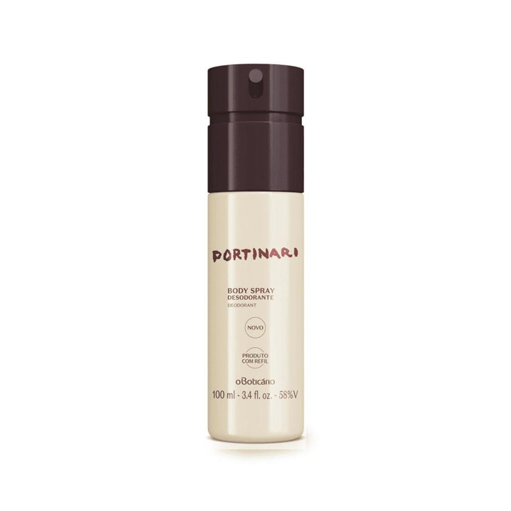 Desodorante Body Spray Portinari 100 Ml  - Flor de Alecrim - Cosméticos