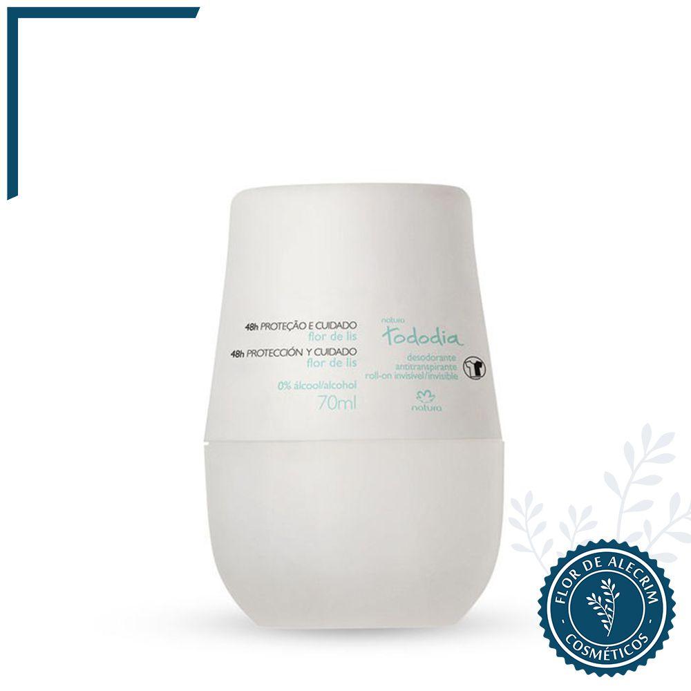 Desodorante Roll-On Flor de Lis TodoDia - 70 ml   Natura  - Flor de Alecrim - Cosméticos