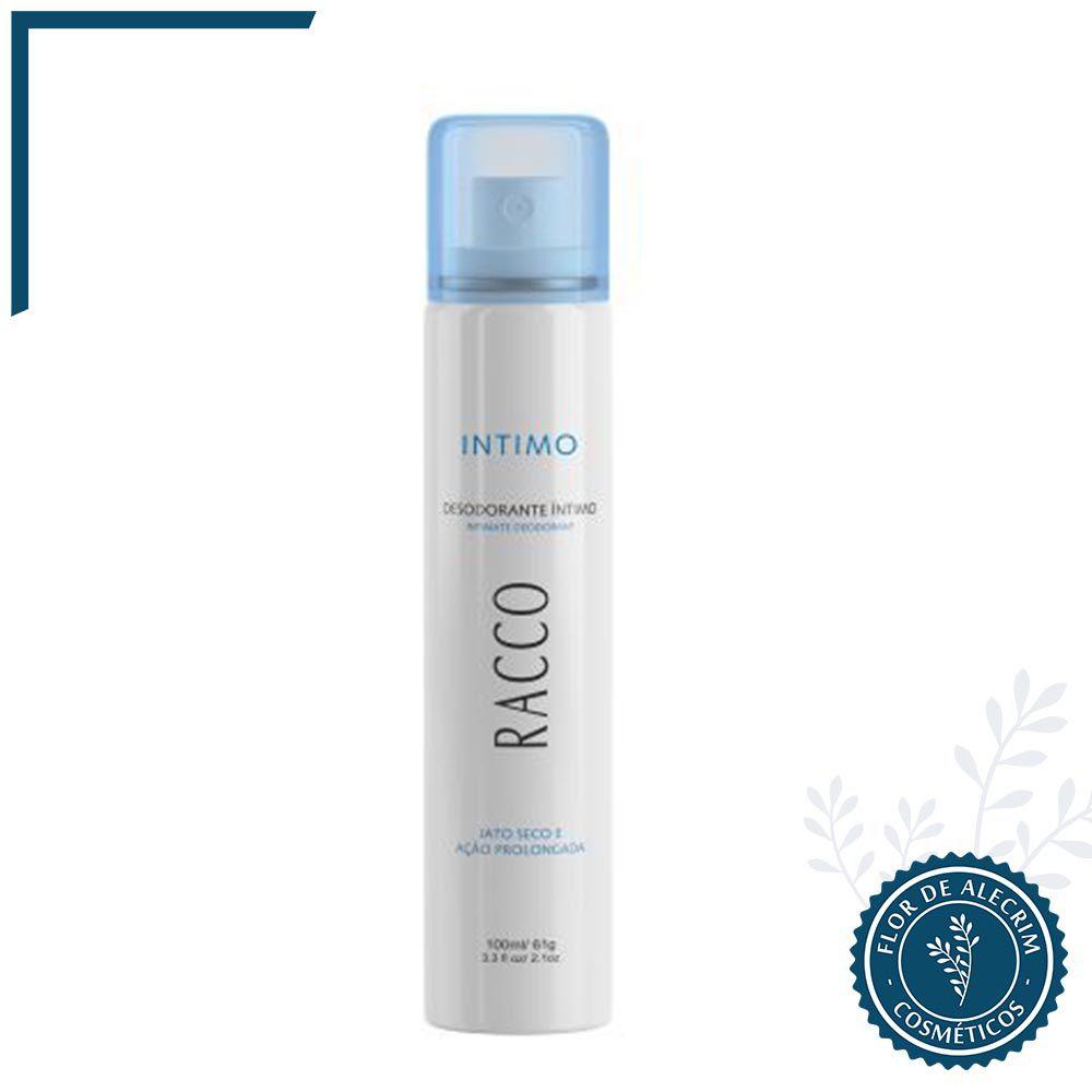 Desodorante Spray Intimo Jato Seco - 100 ml | Racco  - Flor de Alecrim - Cosméticos