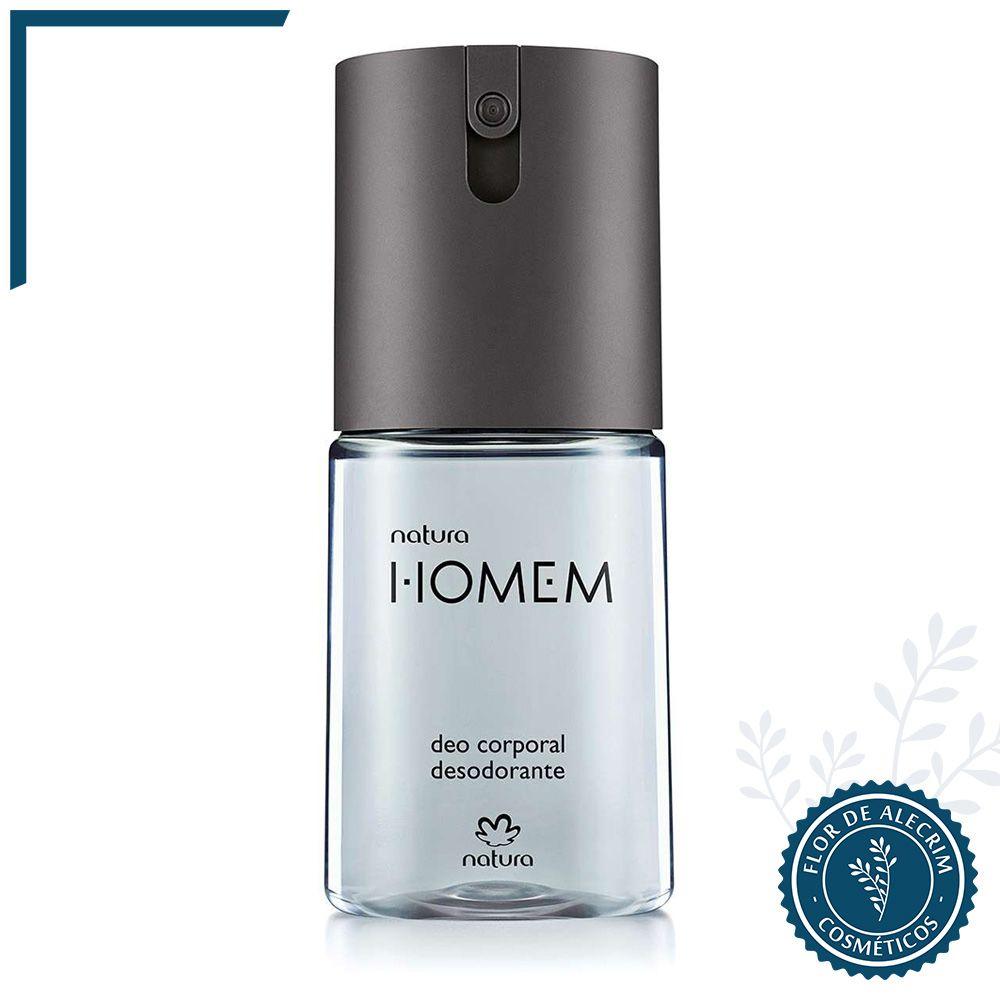 Desodorante Body Spray Natura Homem - 100 ml | Natura  - Flor de Alecrim - Cosméticos
