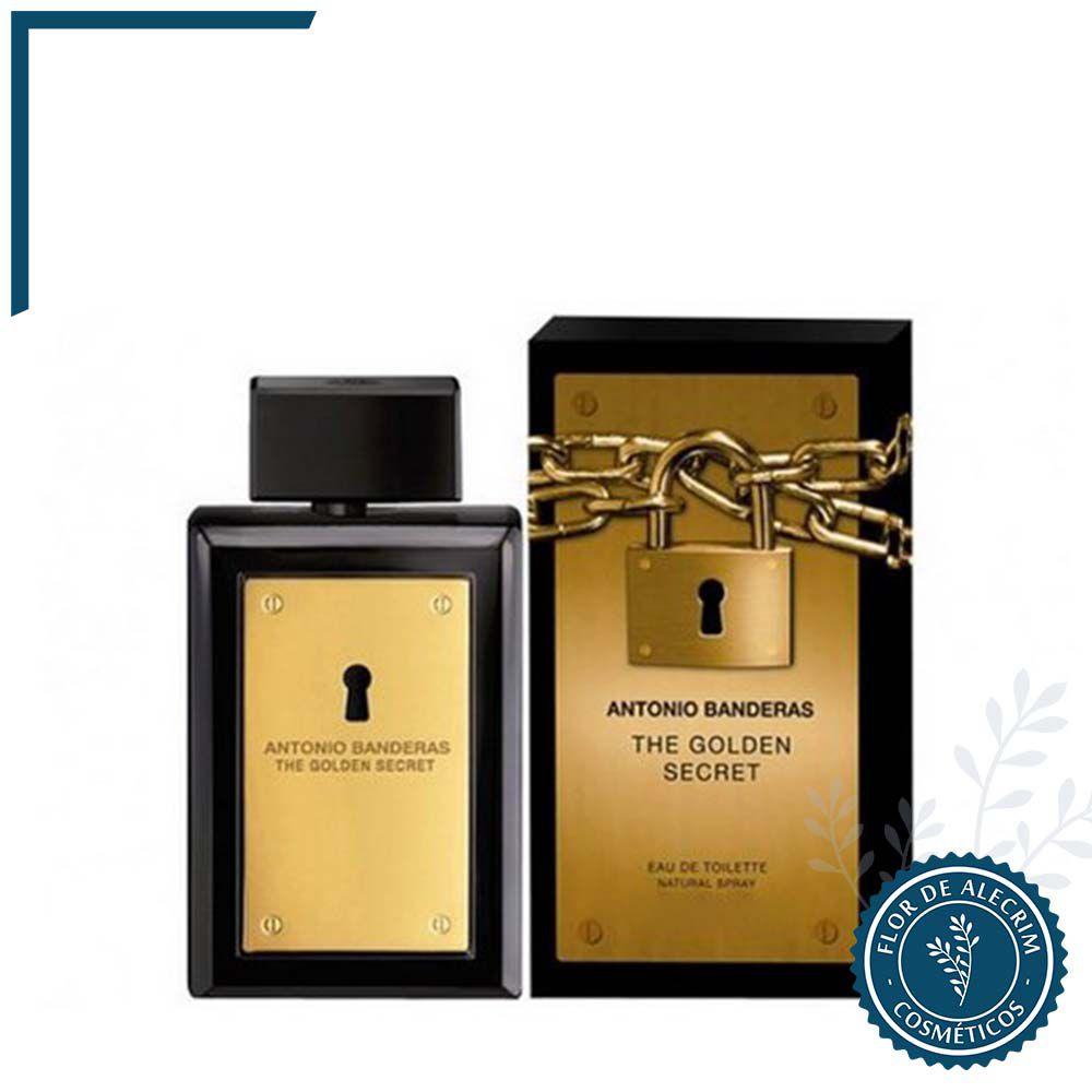 The Golden Secret - 200 ml | Antonio Banderas  - Flor de Alecrim - Cosméticos
