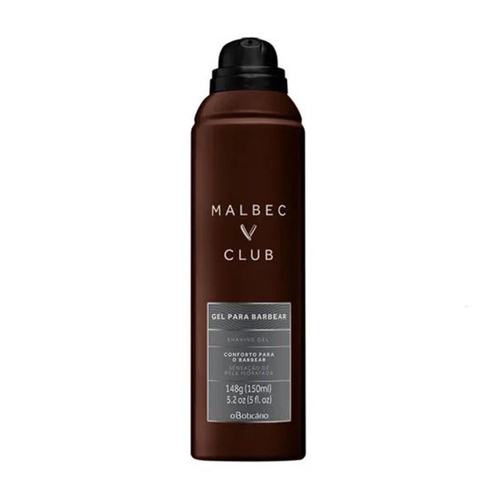 Espuma de Barbear Malbec Club 150 ml | O Boticário  - Flor de Alecrim - Cosméticos