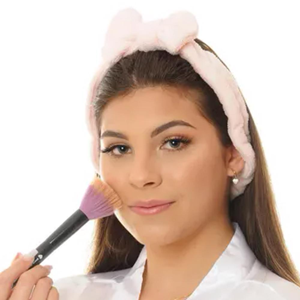 Faixa Laço Maquiagem 1 unidade Cores Sortidas   - Flor de Alecrim - Cosméticos