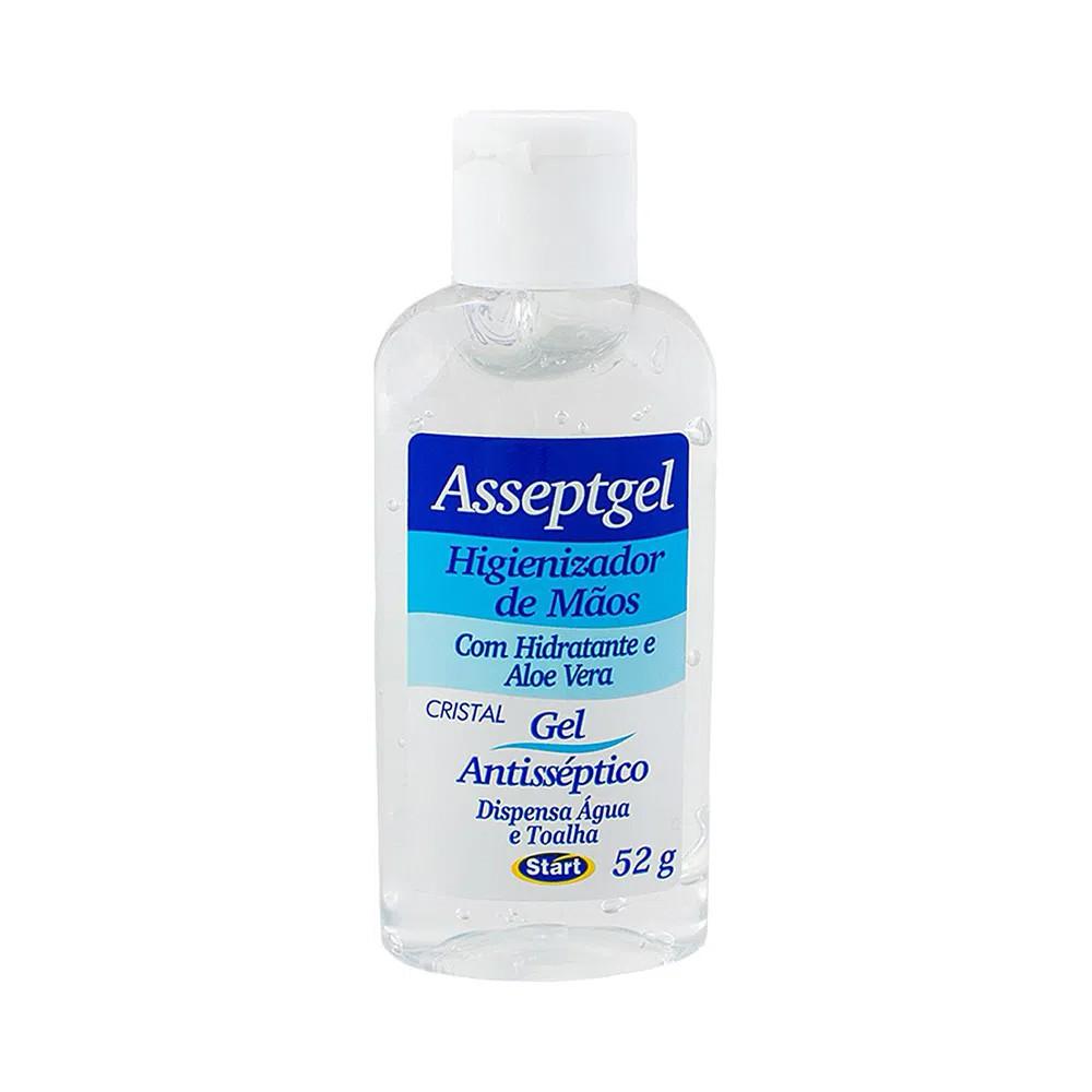 Álcool em Gel Higienizador de Mãos 52 g  - Flor de Alecrim - Cosméticos