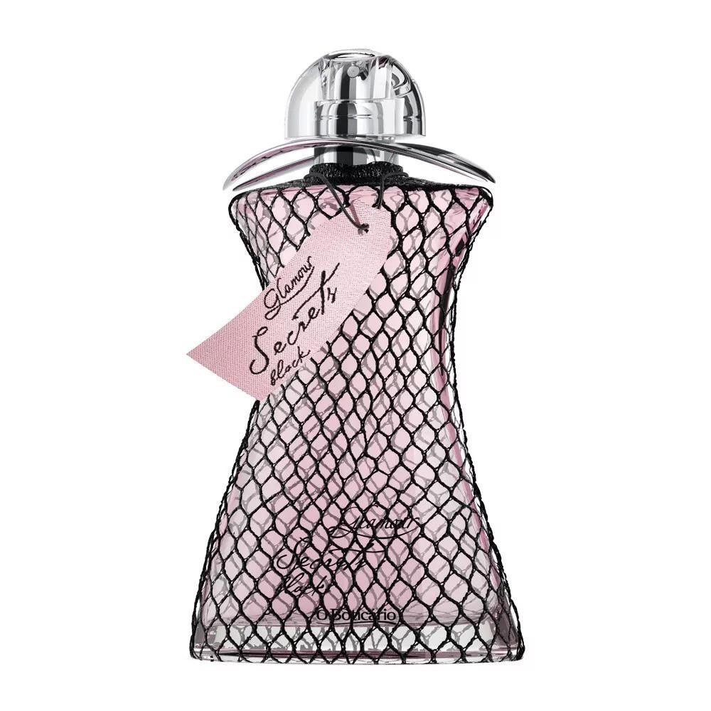 Glamour Secrets Black Desodorante Colônia 75 Ml  - Flor de Alecrim - Cosméticos