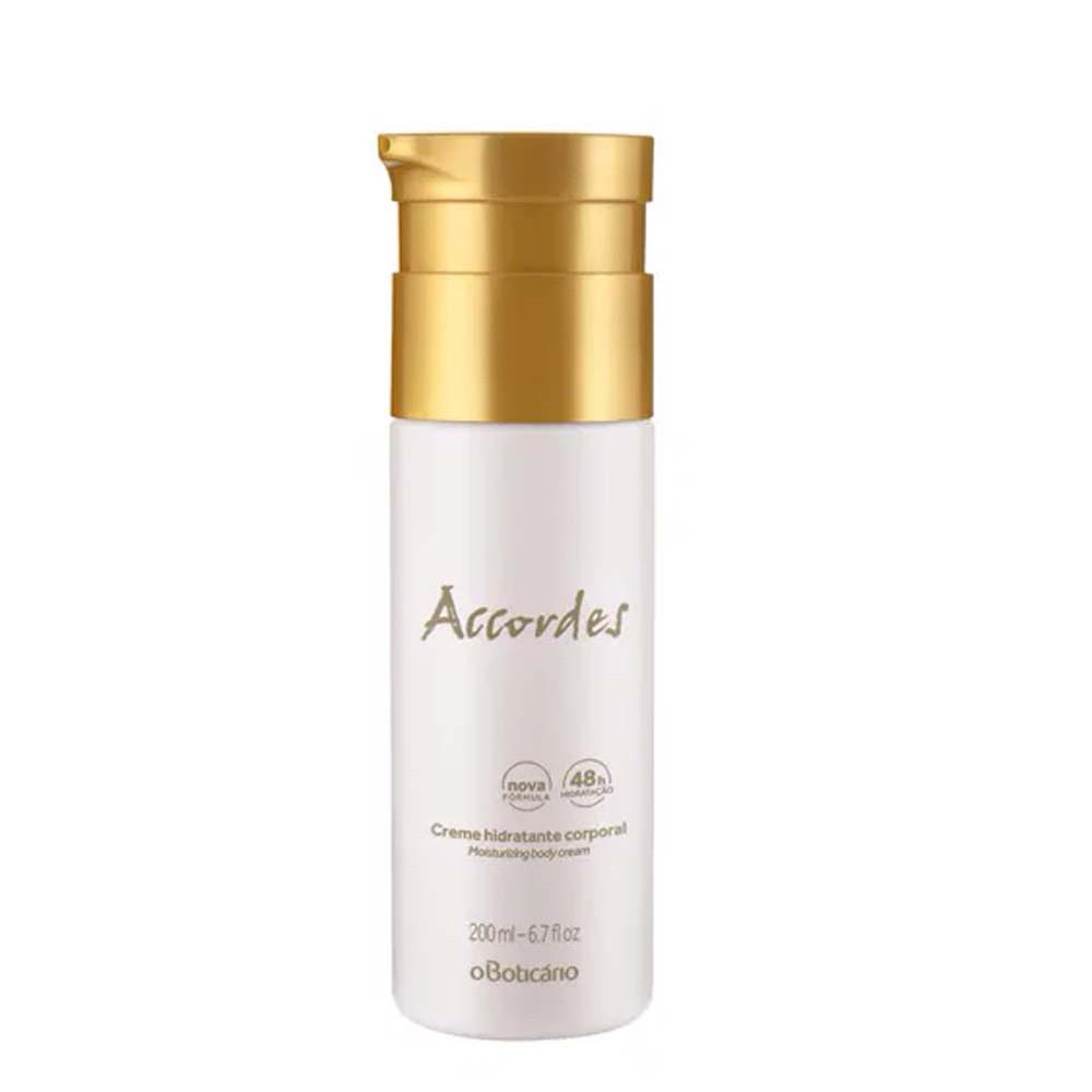 Hidratante Corporal Accordes - 200 ml | O Boticário  - Flor de Alecrim - Cosméticos