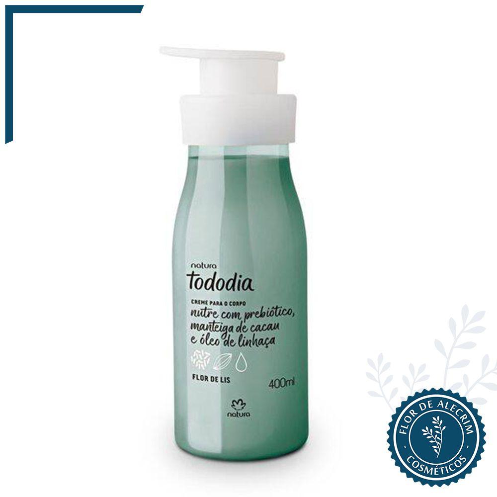 Hidratante Corporal Flor de Lis TodoDia - 400 ml | Natura  - Flor de Alecrim - Cosméticos
