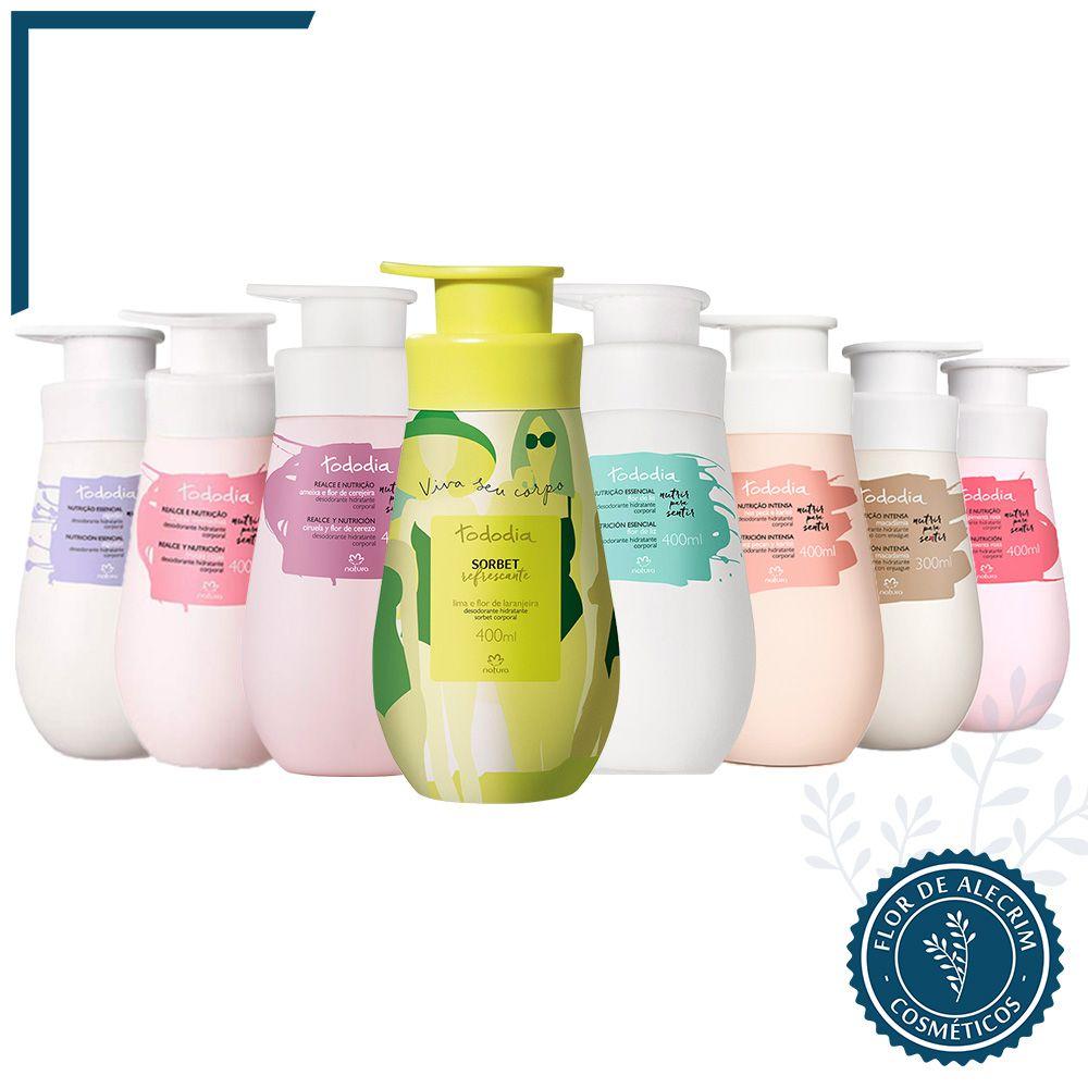 Hidratante Corporal | TodoDia - 400 ml  - Flor de Alecrim - Cosméticos