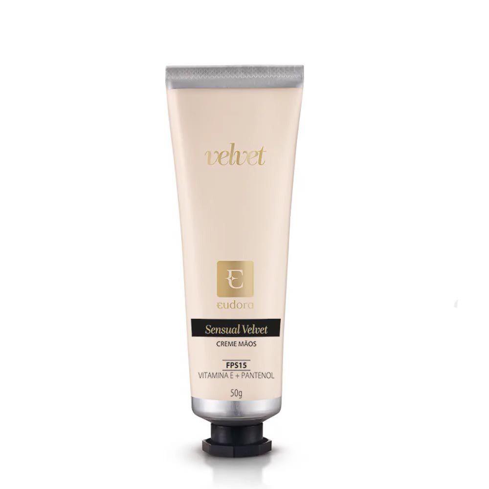 Hidratante de Mãos Sensual Velvet 50 g  - Flor de Alecrim - Cosméticos