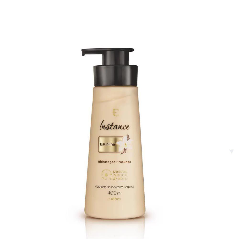 Hidratante Desodorante Corporal Baunilha 400 Ml   - Flor de Alecrim - Cosméticos