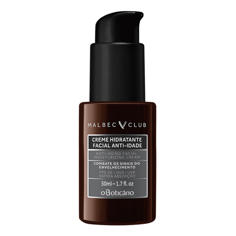 Creme Hidratante Facial Anti-Idade 50 Ml  - Flor de Alecrim - Cosméticos