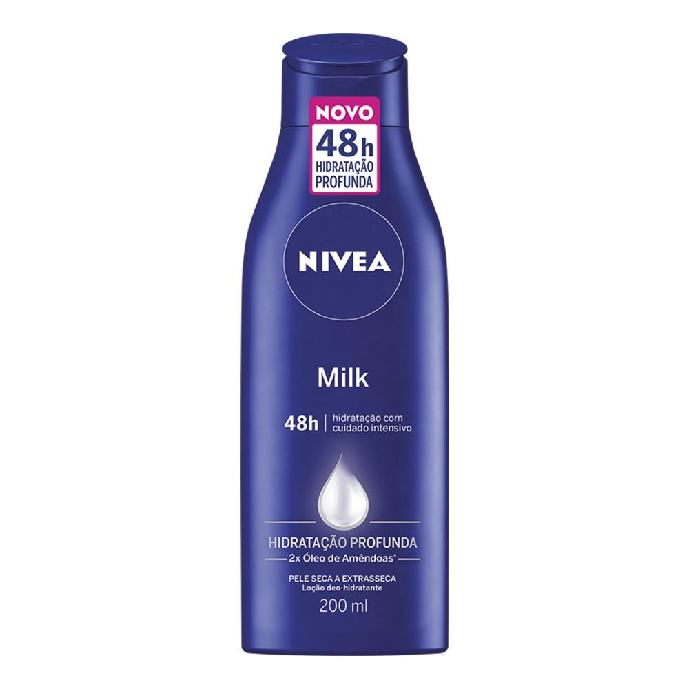 Hidratante Milk Extra Seca - 200 Ml | Nivea  - Flor de Alecrim - Cosméticos