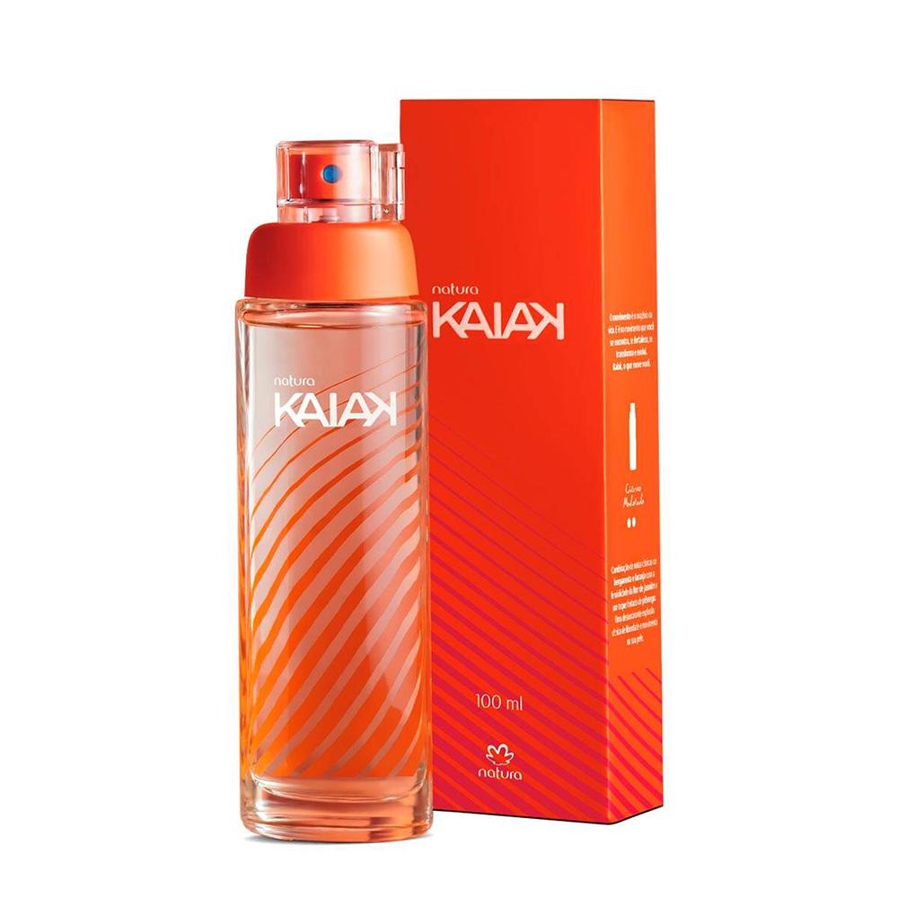 Kaiak Tradicional Desodorante Colônia Feminino 100 Ml  - Flor de Alecrim - Cosméticos