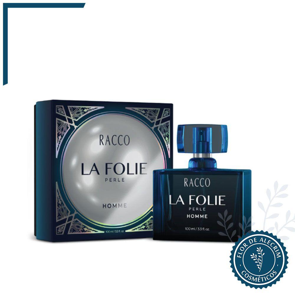 La Folie Perle Homme - 100 ml | Racco  - Flor de Alecrim - Cosméticos
