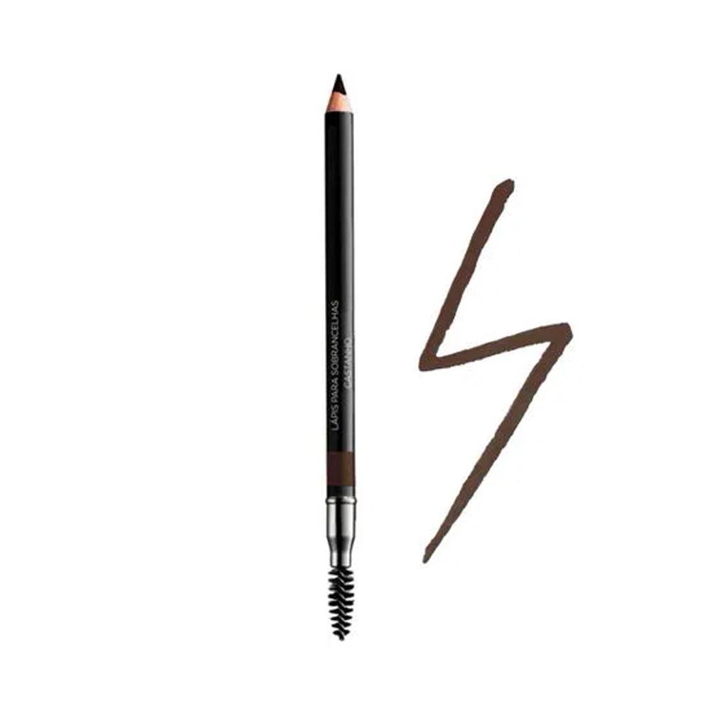 Lápis para Sobrancelhas Castanho Avon 1,20 g  - Flor de Alecrim - Cosméticos