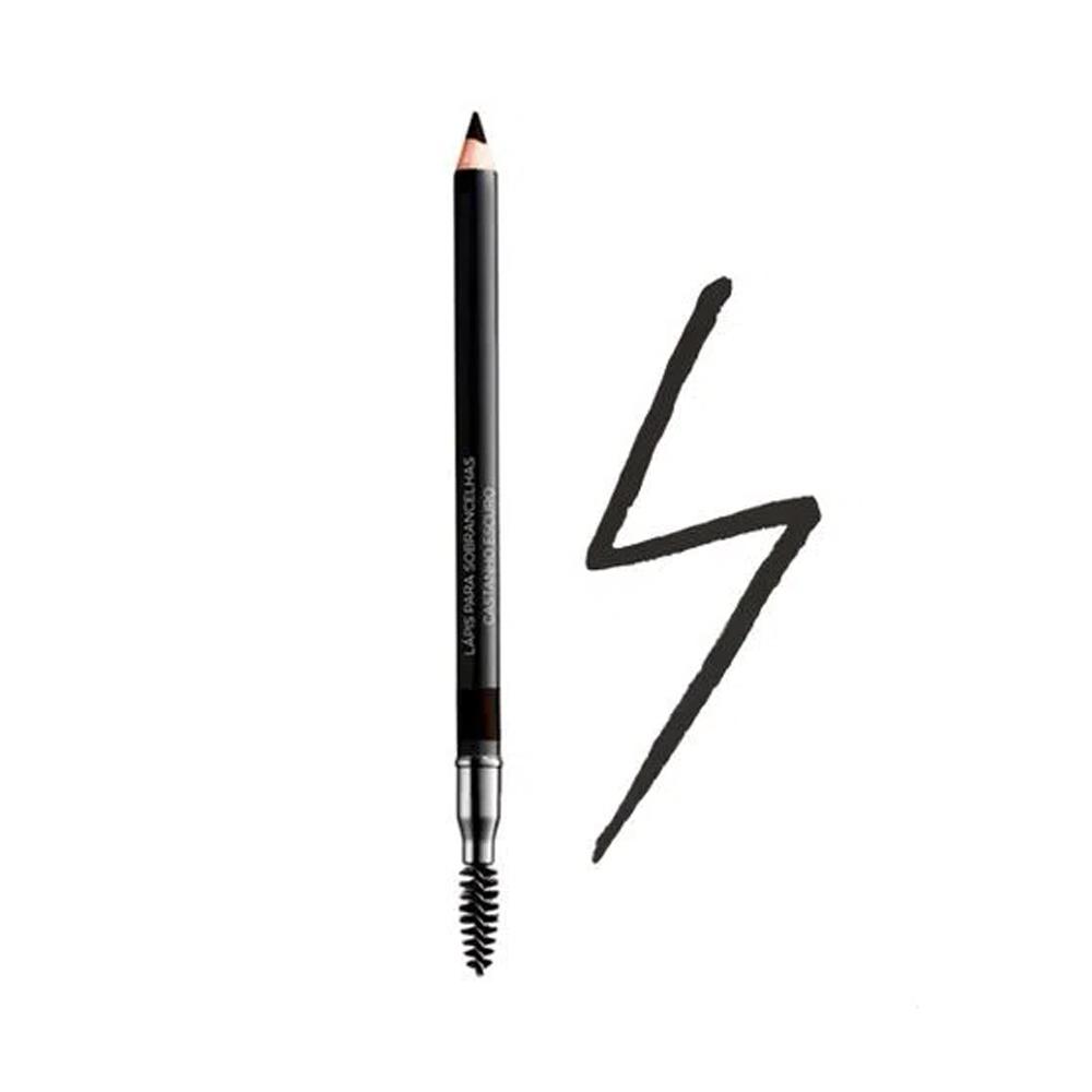 Lápis para Sobrancelhas Castanho Escuro Avon 1,20 g  - Flor de Alecrim - Cosméticos