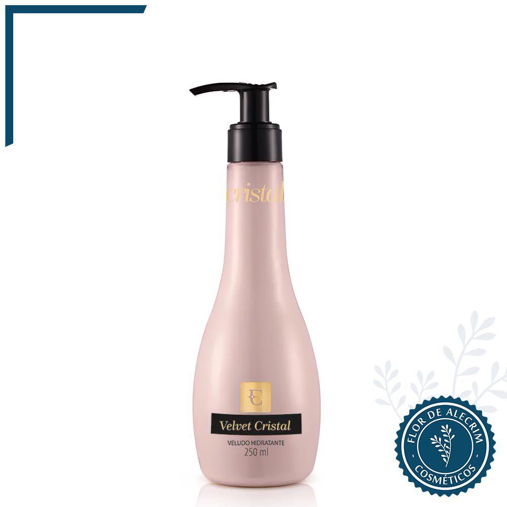 Loção Hidratante Corporal Velvet Cristal - 250 ml | Eudora  - Flor de Alecrim - Cosméticos