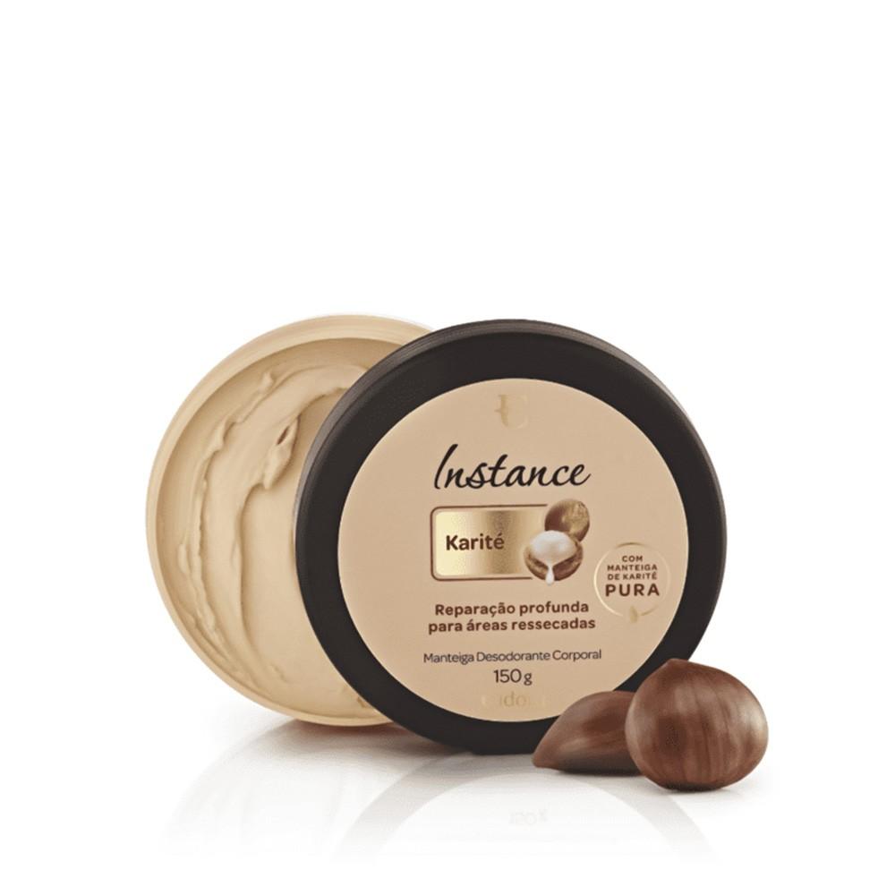 Manteiga Desodorante Corporal Karité 150 g  - Flor de Alecrim - Cosméticos