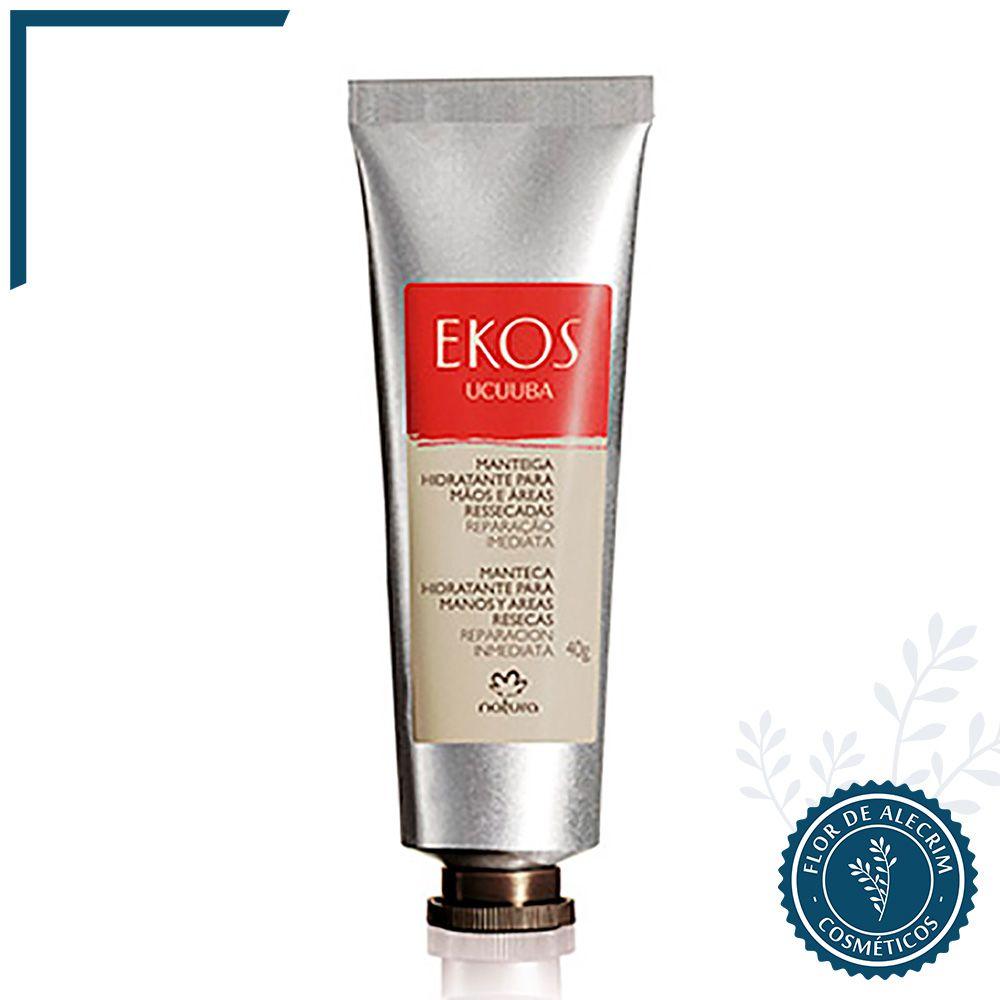 Manteiga Hidratante para as Mãos Ucuuba   Ekos 40 g  - Flor de Alecrim - Cosméticos