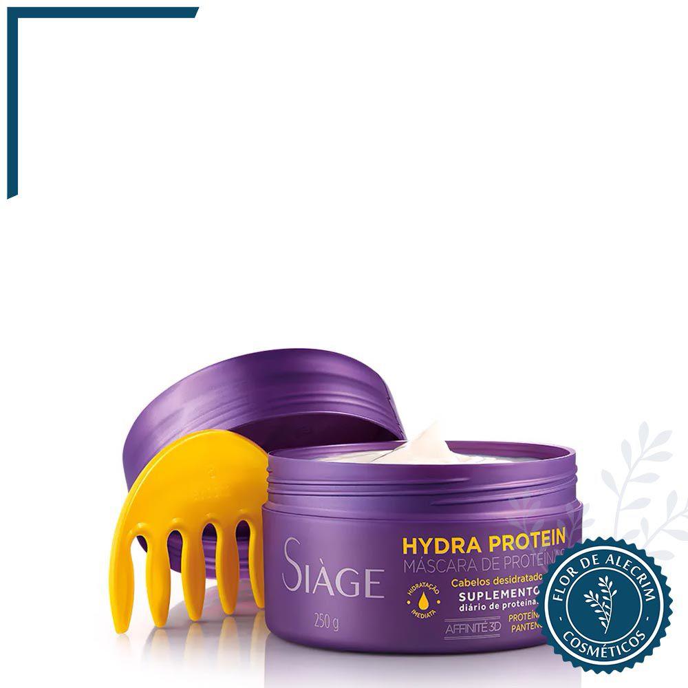 Máscara Capilar Hydra Protein Siàge - 250 g | Eudora  - Flor de Alecrim - Cosméticos