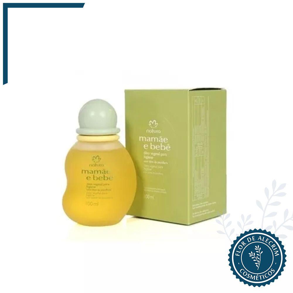 Óleo Vegetal para Higiene Mamãe e Bebê - 100 ml | Natura  - Flor de Alecrim - Cosméticos