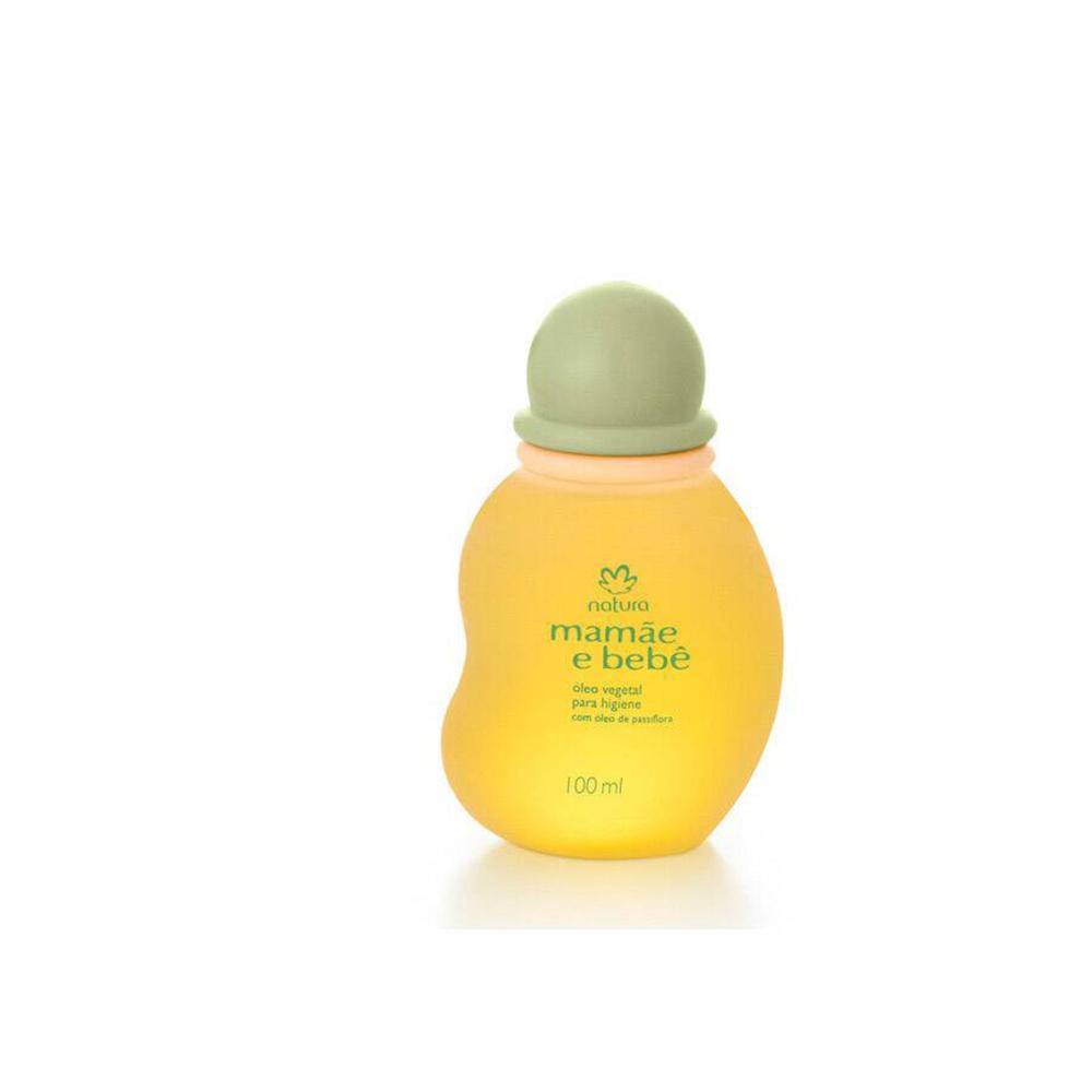 Óleo Vegetal para Higiene Mamãe e Bebê 100 Ml  - Flor de Alecrim - Cosméticos