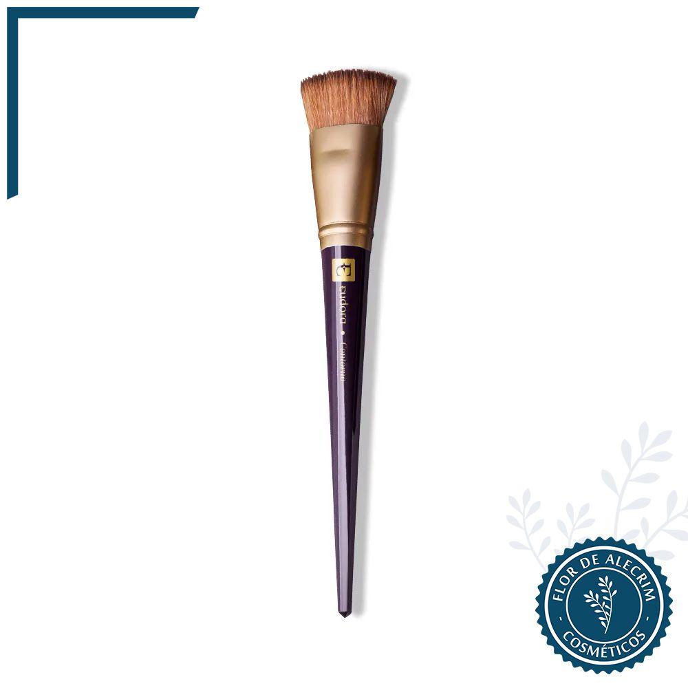 Pincel Contorno Facial Diva Eudora - 19,8 cm | Eudora  - Flor de Alecrim - Cosméticos