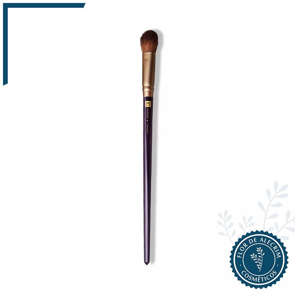 Pincel Corretivo Diva Eudora - 16,5 cm | Eudora  - Flor de Alecrim - Cosméticos