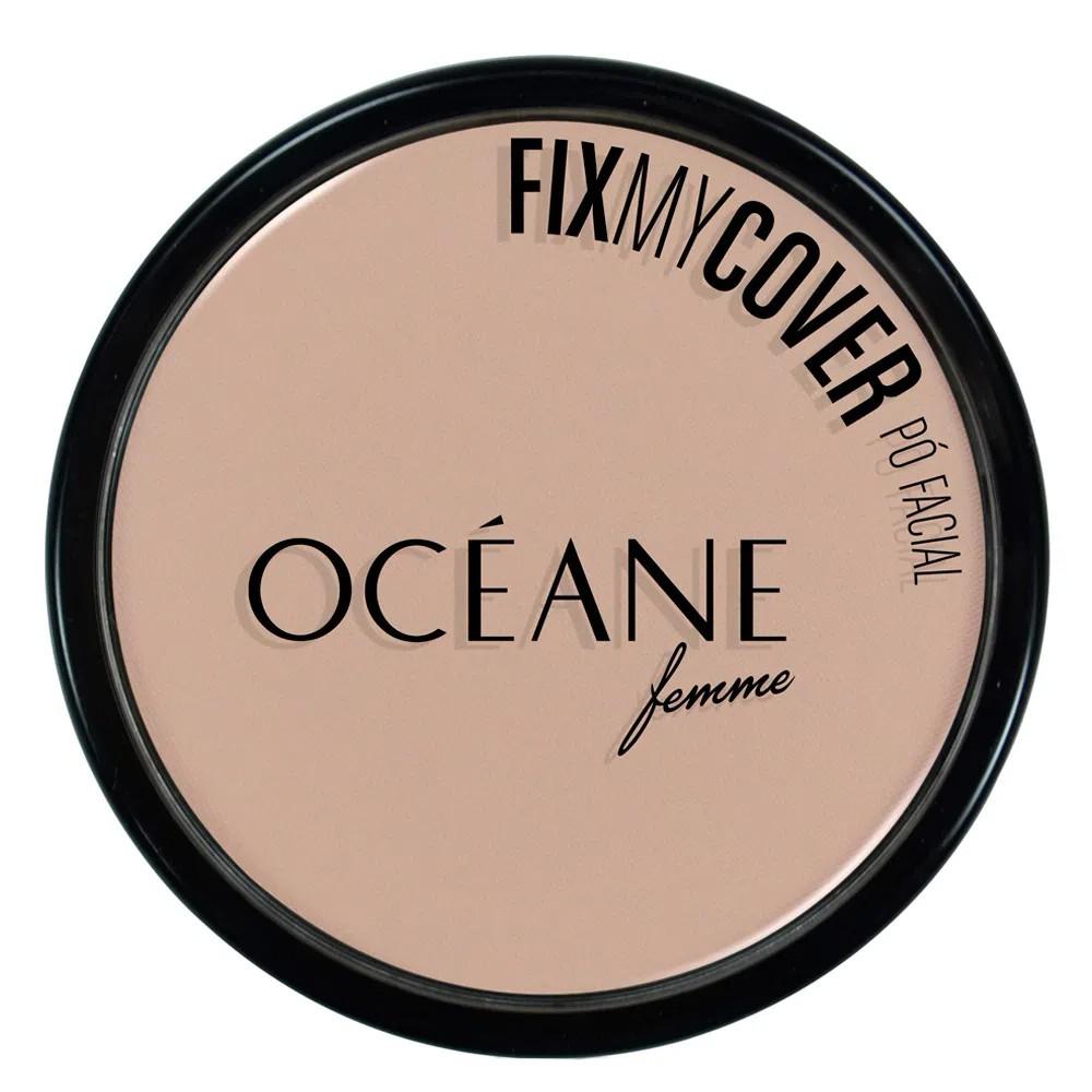 Pó Facial Fix My Cover 1 9,6 g  - Flor de Alecrim - Cosméticos
