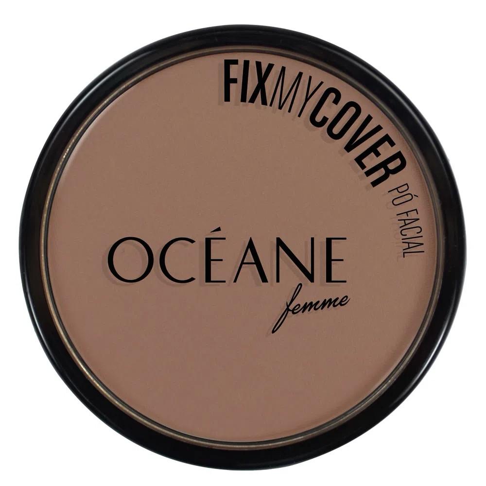 Pó Facial Fix My Cover 3 9,6 g  - Flor de Alecrim - Cosméticos