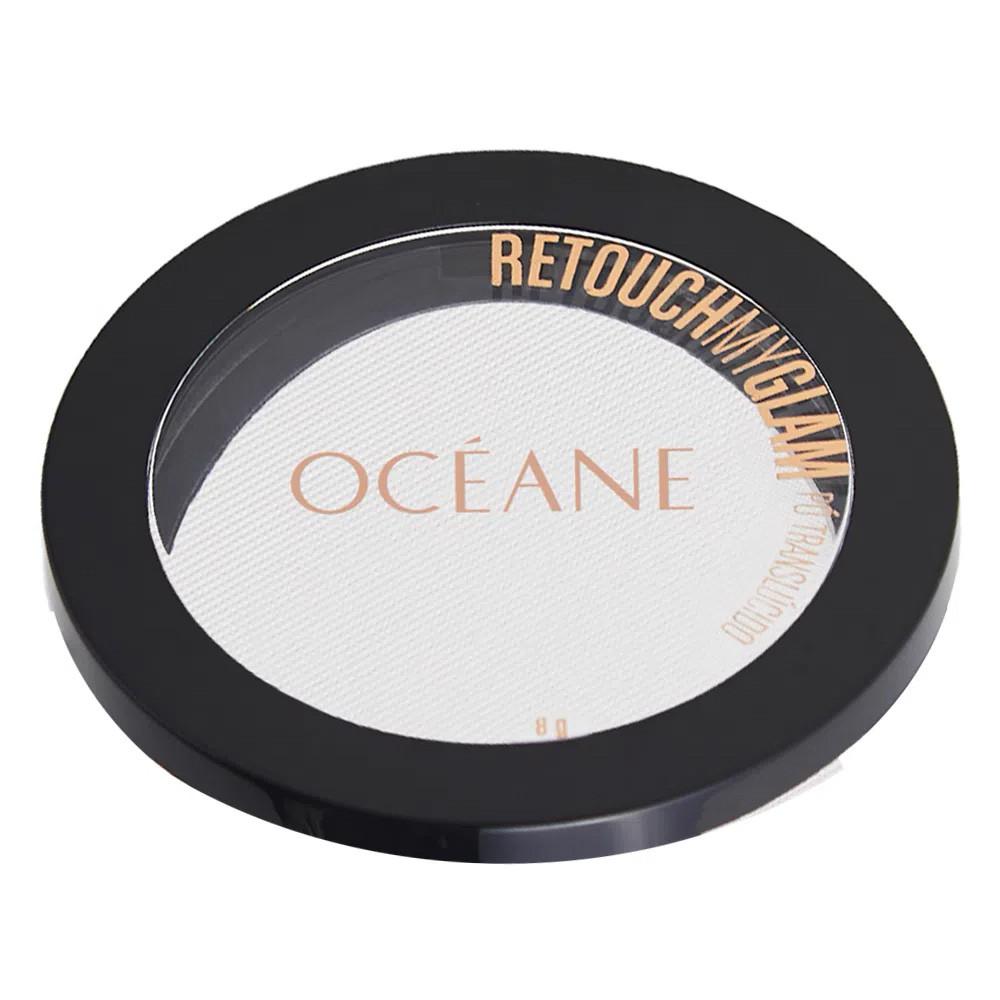 Pó Facial Translúcido Retouch My Glam Océane 9,6 g  - Flor de Alecrim - Cosméticos