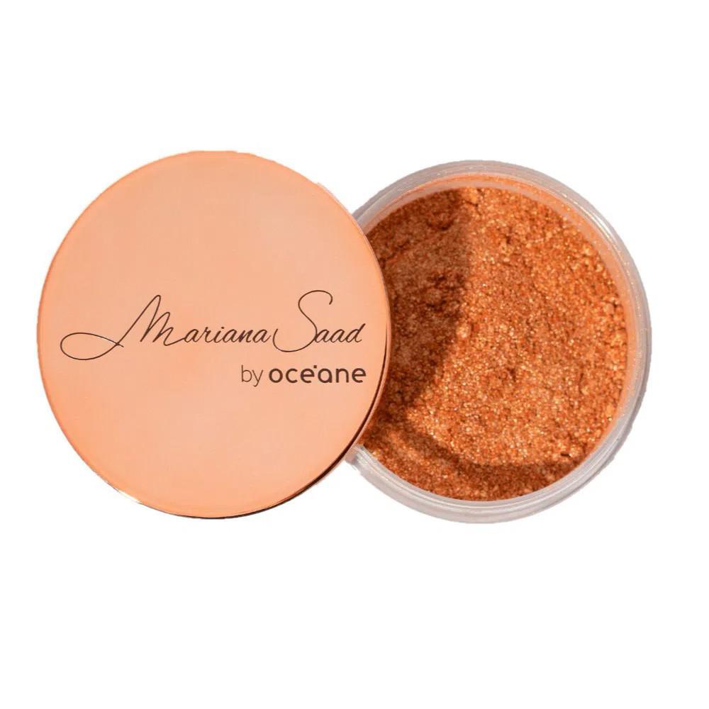 Pó Iluminador Mariana Saad Skin Shine Gold 8 g  - Flor de Alecrim - Cosméticos