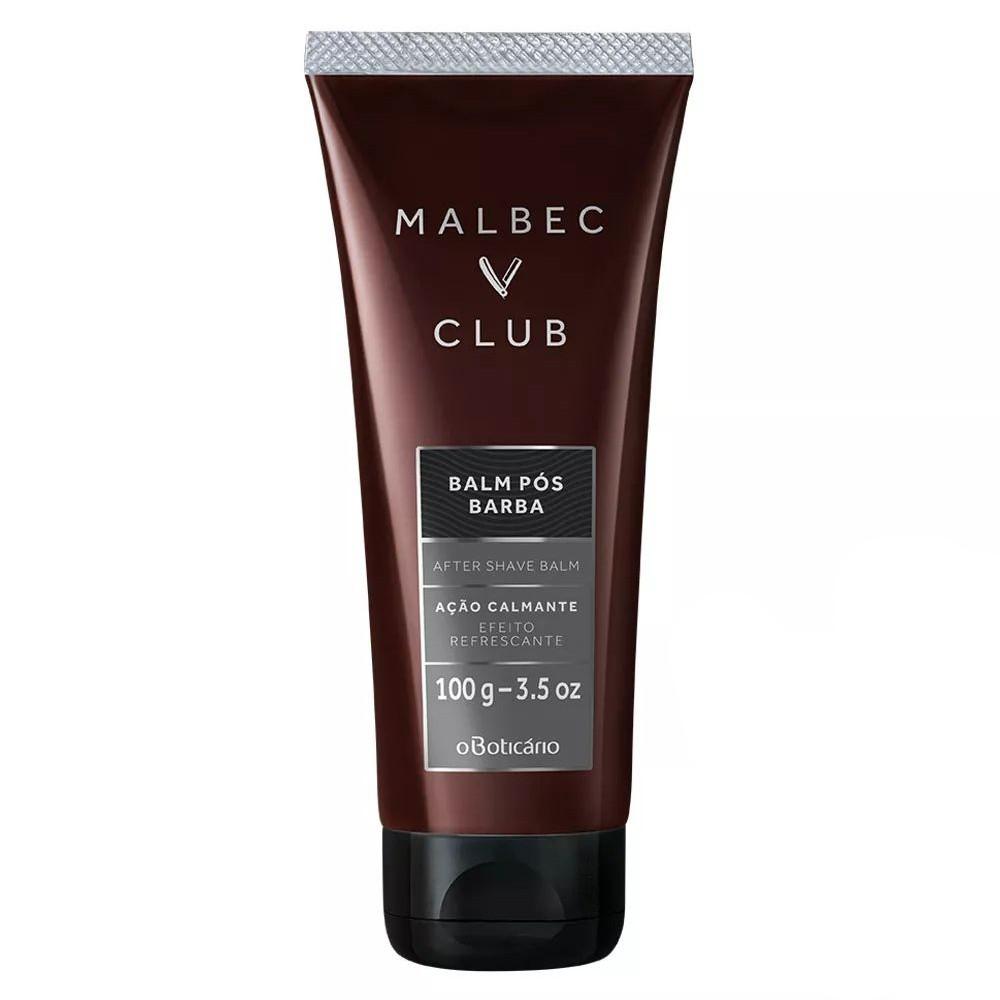 Balm Pós Barba Malbec Club 100 g  - Flor de Alecrim - Cosméticos