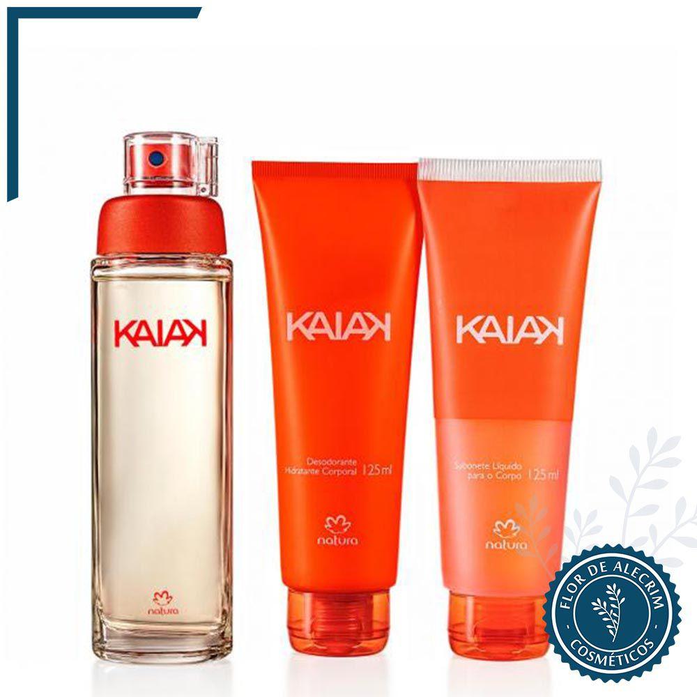 Presente Kaiak Clássico | Natura  - Flor de Alecrim - Cosméticos
