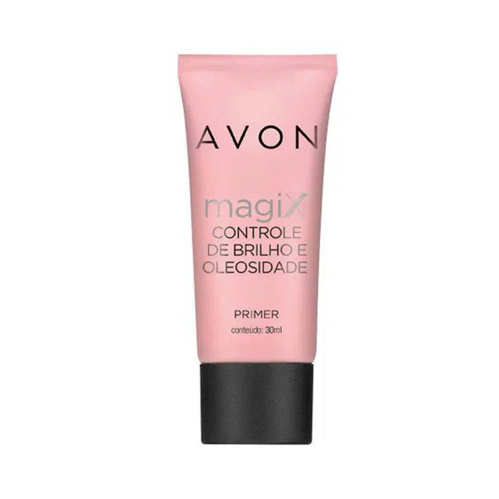 Primer Magix Avon Controle de Brilho e Oleosidade 30 Ml  - Flor de Alecrim - Cosméticos