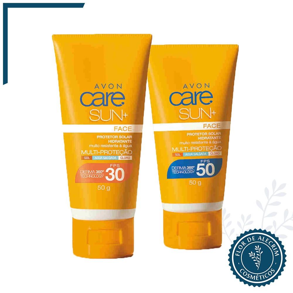 Protetor Facial | Care Sun + - 50 g  - Flor de Alecrim - Cosméticos