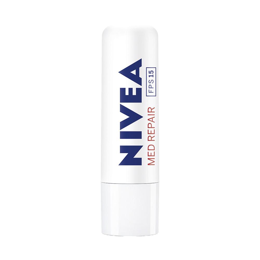 Protetor Labial Med Repair 15 FPS - 4,8 g | Nivea  - Flor de Alecrim - Cosméticos