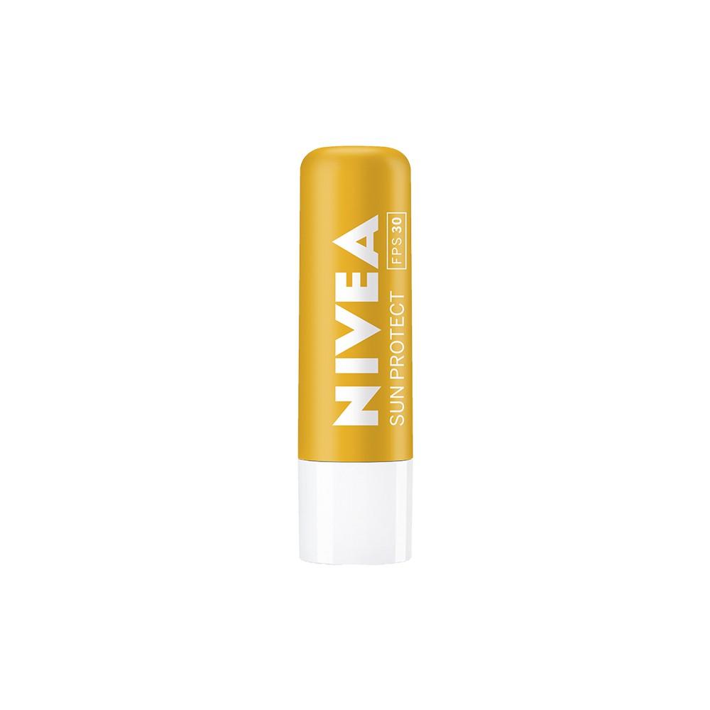 Protetor Labial Sun Protect 30 FPS - 4,8 g | Nivea  - Flor de Alecrim - Cosméticos