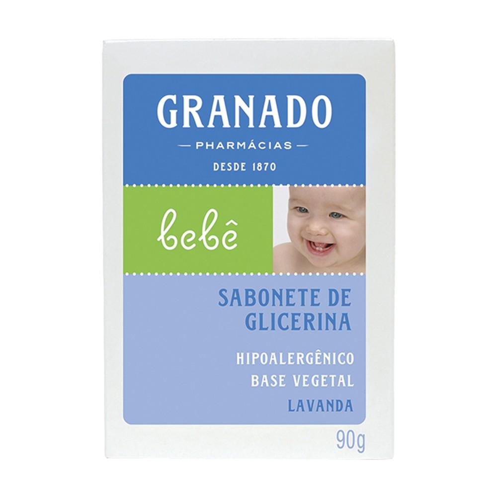 Sabonete Barra Bebê Lavanda 90 g  - Flor de Alecrim - Cosméticos