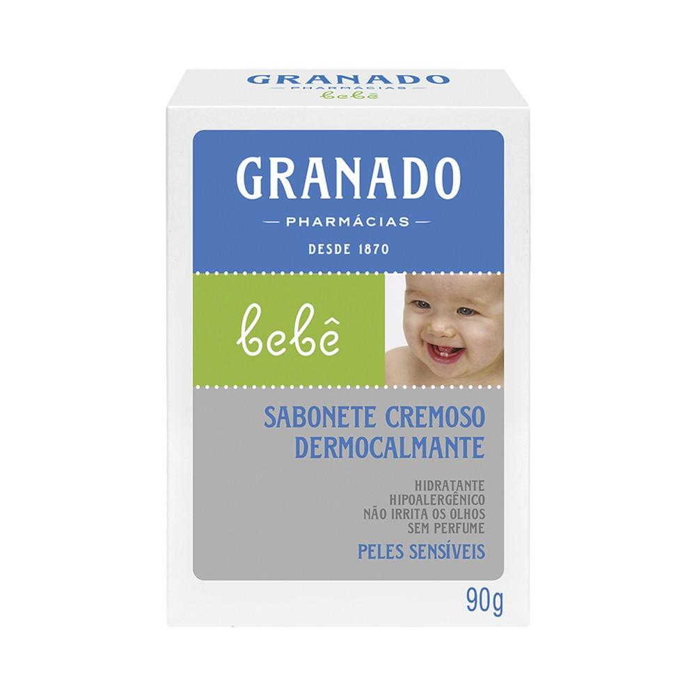 Sabonete Barra Bebê Granado Pele Sensíveis 90 g  - Flor de Alecrim - Cosméticos