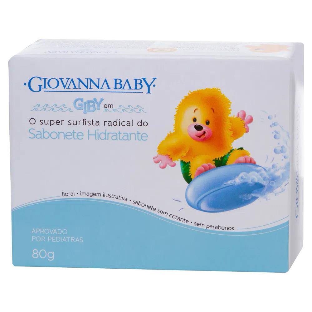Sabonete em Barra Baby Giby Blue 80 g  - Flor de Alecrim - Cosméticos