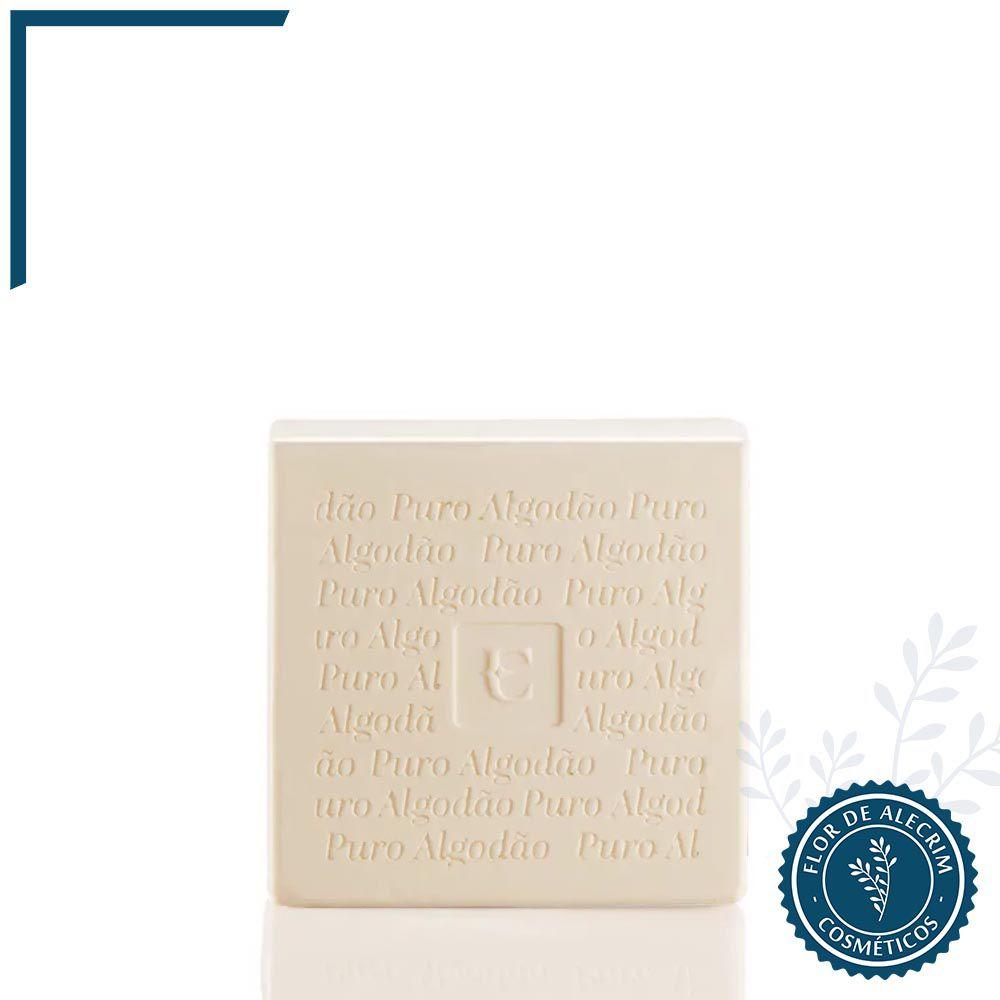 Sabonete em Barra Eudora Puro Algodão 1 unidade - 90 g | Eudora  - Flor de Alecrim - Cosméticos